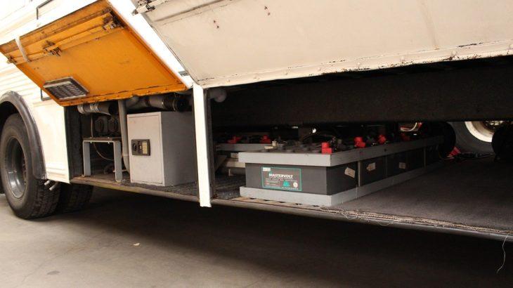 トラックのバッテリー盗難の防止対策とは