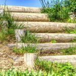 おすすめの法面用の仮設階段ステップ