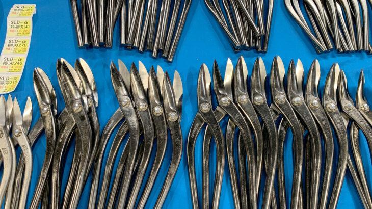 板金金切鋏ブランド「種光」の新製品・ダイス鋼SLD2金切鋏